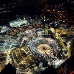 Breathtaking Aerial Photographs Show Millions of Muslim Worshippers Praying during the Night of Power at the Masjid-al-Haram in Makkah