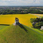 The Lion's Mound of Battlefield of Waterloo