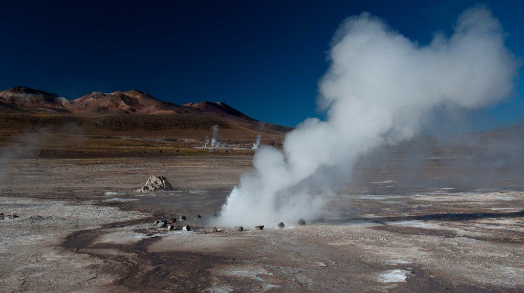 El Tatio is among the highest-elevation geyser fields in the world