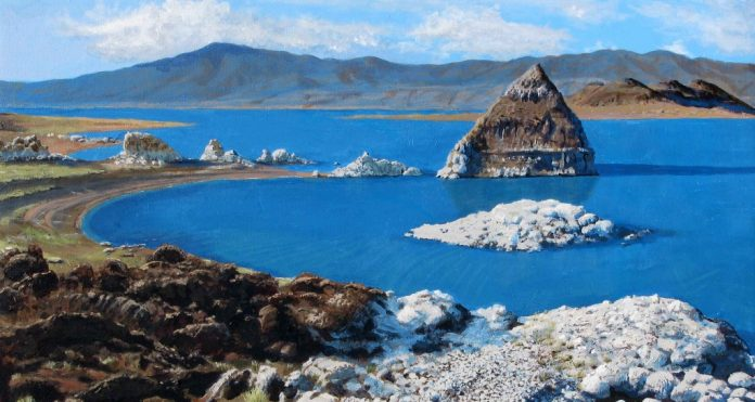 Pyramid Lake is widely acclaimed as North America's most beautiful desert lake,