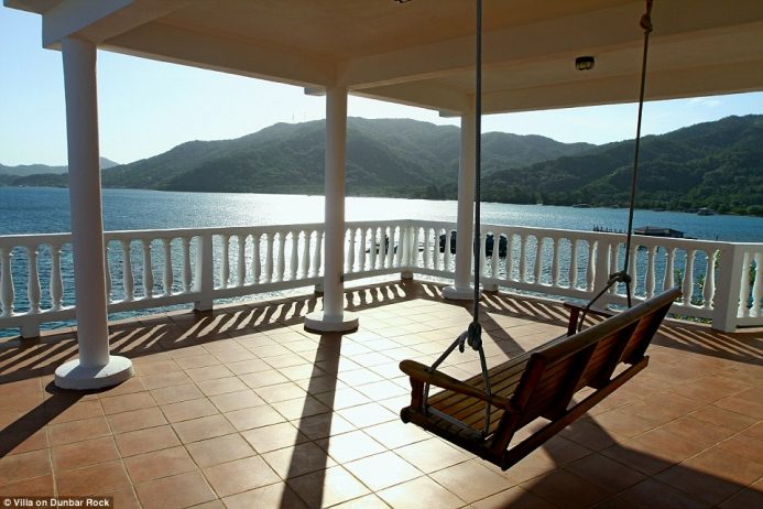 The secluded villa is the perfect retreat for those wishing to enjoy a private holiday with incredible views