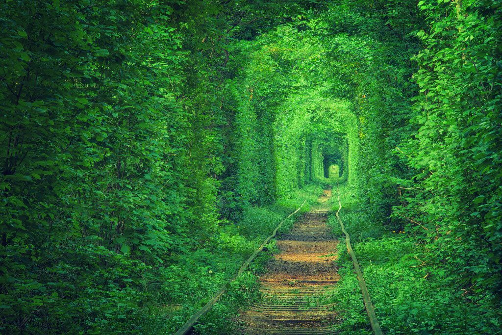 Tunnel of Love in Ukarine