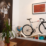 Creative Furniture Designed to Store the Bike in Rack to Save Space in Small Apartments