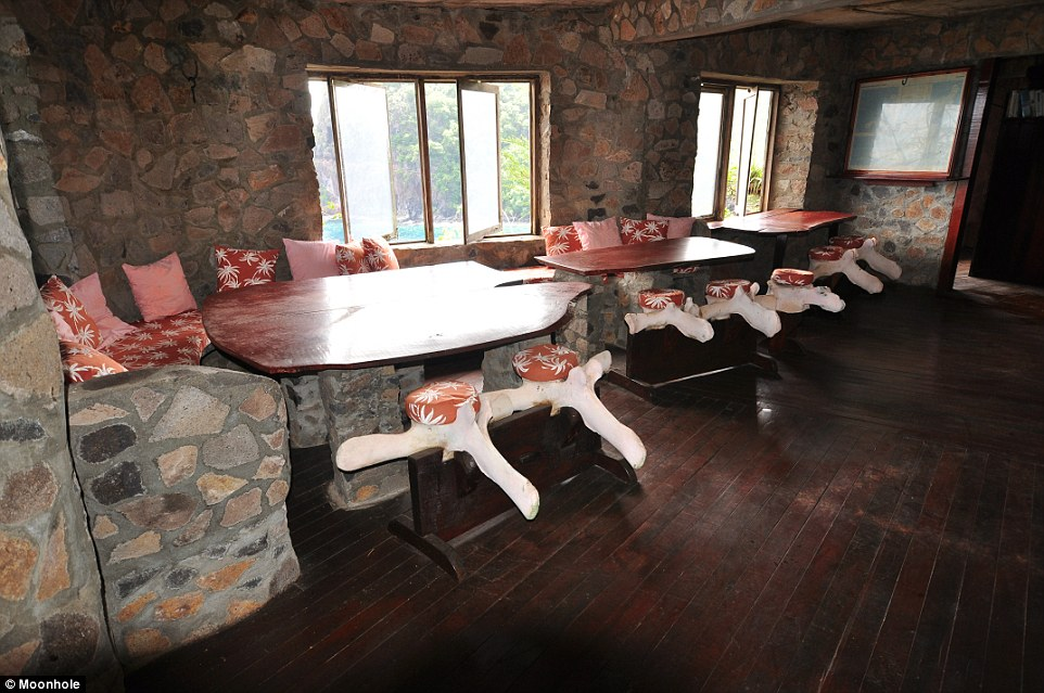 Visitors are made as comfortable as possible by the 12 staff who work at Moonhole, including a cook and a housekeeper