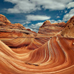 The Wave, A Unique Sandstone Formation in Arizona