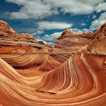 The Wave, A Unique Sandstone Formation in Arizona
