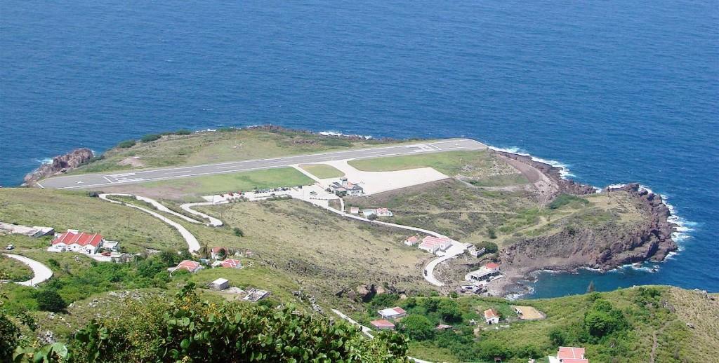 Juancho E. Yrausquin Airport is an airport on the Dutch Caribbean island of Saba.