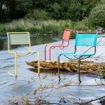 Thonet Launches Colorful Outdoor Range of Classic Chairs