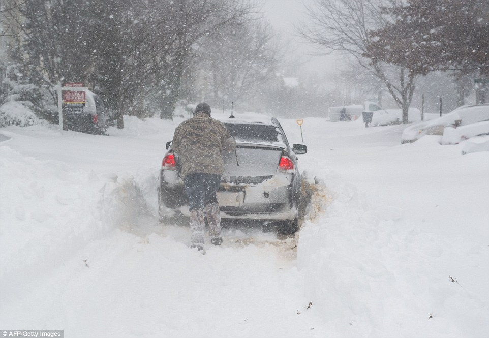 A deadly blizzard with bone-chilling winds and potentially record-breaking snowfall slammed the eastern US on Saturday
