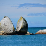 The Split Apple Rock Formation