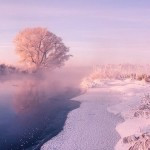 Magnificent Beauty of Radiant Winter Mornings in Belarus