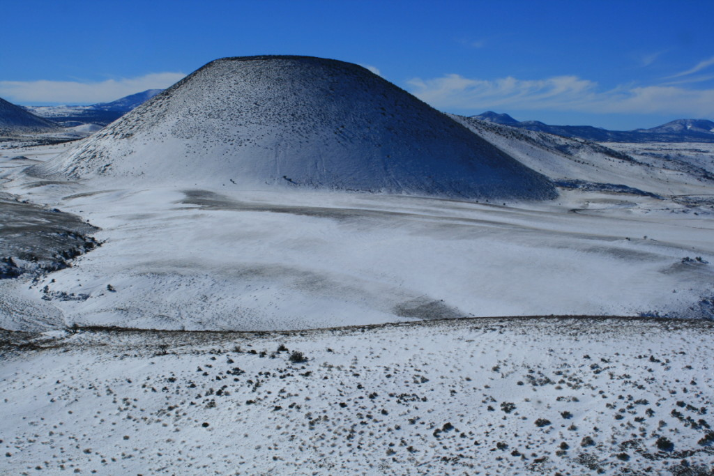 SP Crater structure is made up of volcanic fragments, often glassy rocks encompassing bubbles of trapped gas.