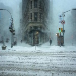 NYC Winter Storm Photo Strangely Look like an Impressionist Painting