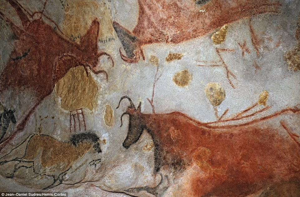 The Grotte de Lascaux was discovered in 1940. It's a gallery of more than 600 paintings and 1,500 engravings that had lain hidden underground for more than 18,000 years.
