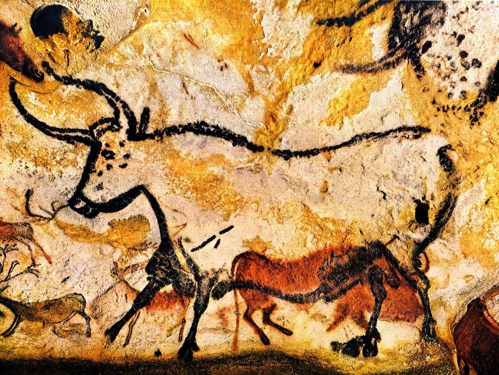 Lascaux cave has often been referred to well-known for their artistry, more than 2000-strong menagerie of animal images