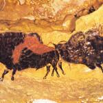 Grotte de Lascaux: The Famous Prehistoric Cave Printing in France.