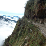 Yungas Road, the Road of Death in Bolivia