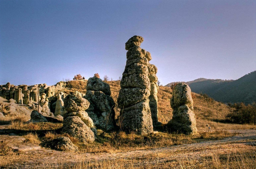Well, despite the mystic stories the earth pyramid in Kuklica was formed as a result of natural erosion processes in the Holocene, almost 100,000 years ago.