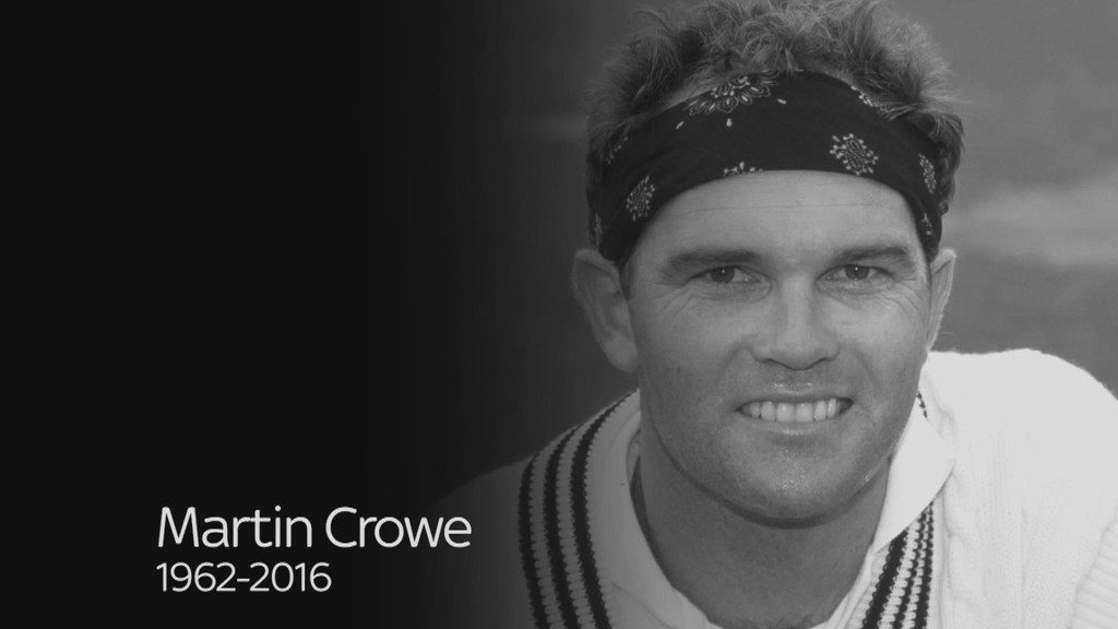 Martin Crowe left the viewer with the impression of having a nanosecond more time to play his strokes, with balance in their execution and equanimity in his stance.