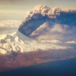 The Stunning Images of Alaskan Volcano