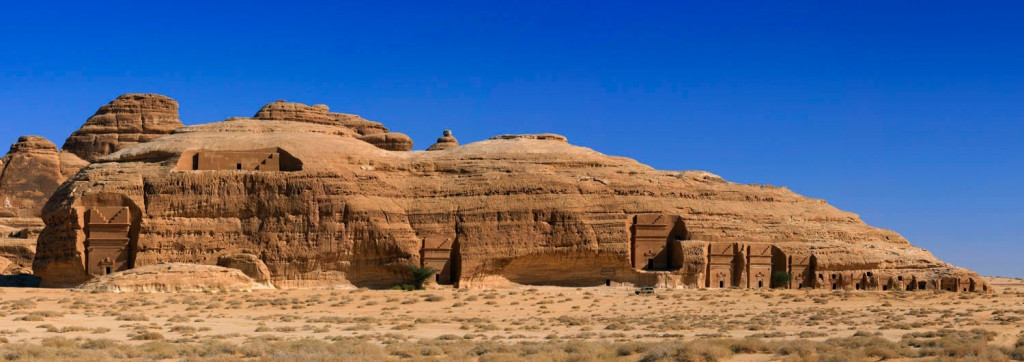The area has multiple quarries that the Nabataean masons are said to have used to cut and carve stone blocks.