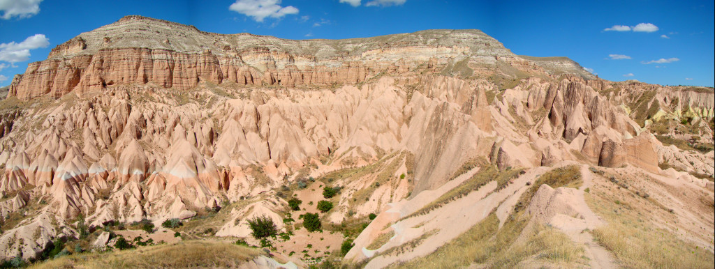 """Now, the rock sites of Cappadocia and Göreme National Park designated """"World Heritage Site by UNESCO"""" and describes as one of the world's most striking and largest cave-dwelling complexes."""