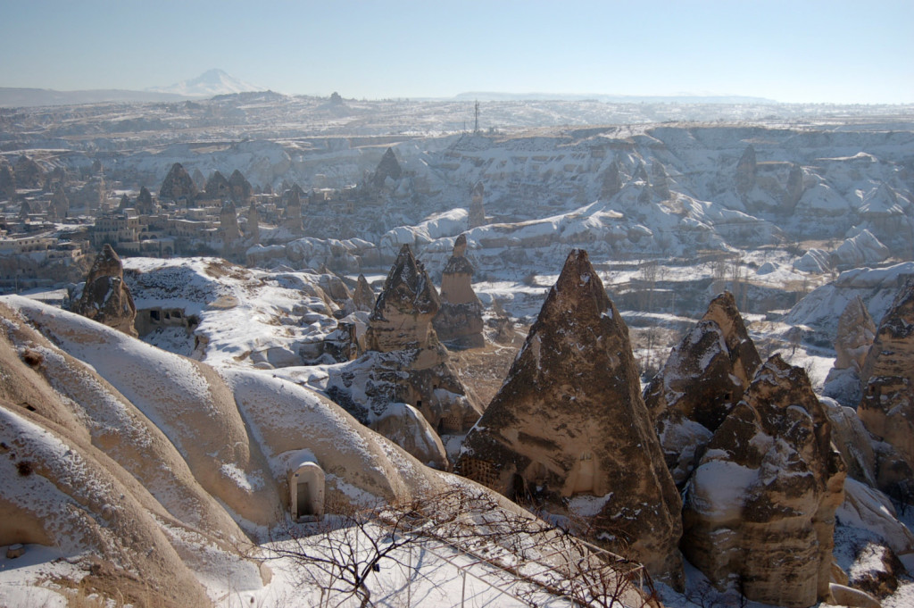 Turkey's Cappadocia region is extremely an exclusive for its beautiful nature and history.
