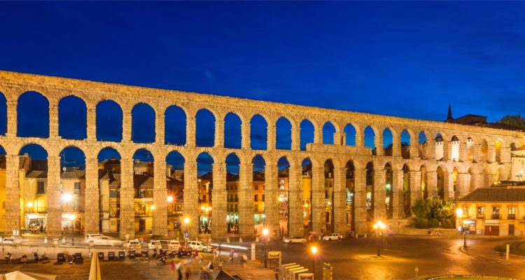 The Aqueduct construction date is not confirmed, however it is believed that it took place somewhere Ist century AD during the reigns of Emperors Domitian, Nerva and Trajan.