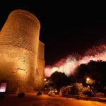 The Maiden Tower of Baku, Azerbaijan