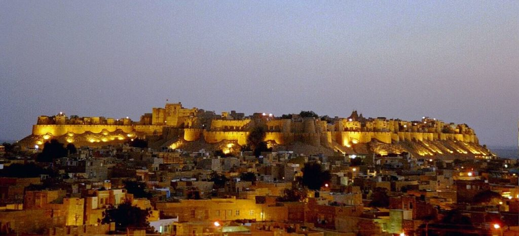 The Jaisalmer Fort began in 1196 and it took 7 years to complete, and subsequent rulers kept making additions and alterations to it.