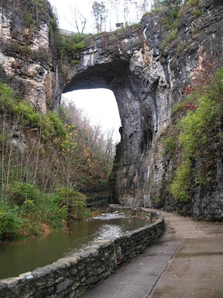 Natural Bridge Virginia has been designated as a Virginia Historical Landmark and a National Historical Landmark, located in the beautiful Shenandoah Valley