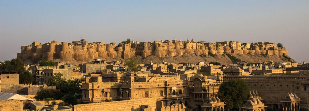 In 2013 the massive fort is declared UNESCO World Heritage Site stands amidst the sandy expanse of the great Thar Desert, on Trikuta Hill, and has been the scene of various battles.