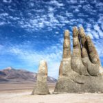 The Hand of Desert in Chile