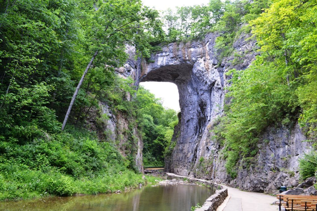 It is often cited as having a place among the enormous natural limestone arch.