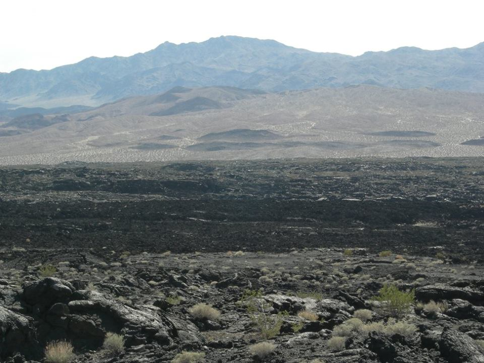 The second phase produced similarly extensive flows, while the third eruption produced substantial amounts of tephra.
