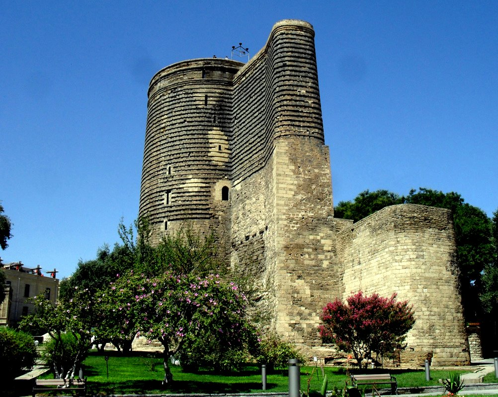 The Maiden Tower is Baku's most distinguished landmark, most majestic mysterious monument, constructed alongside a natural oil well.