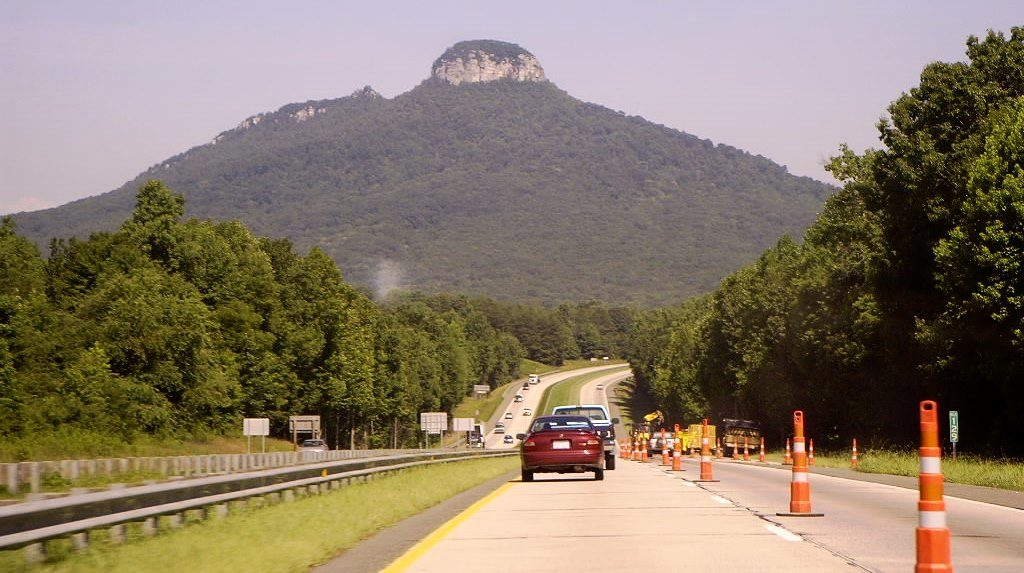 , the favorite ones are rock climbing and rappelling at Pilot Mountain; offer a challenge to experienced climbers.