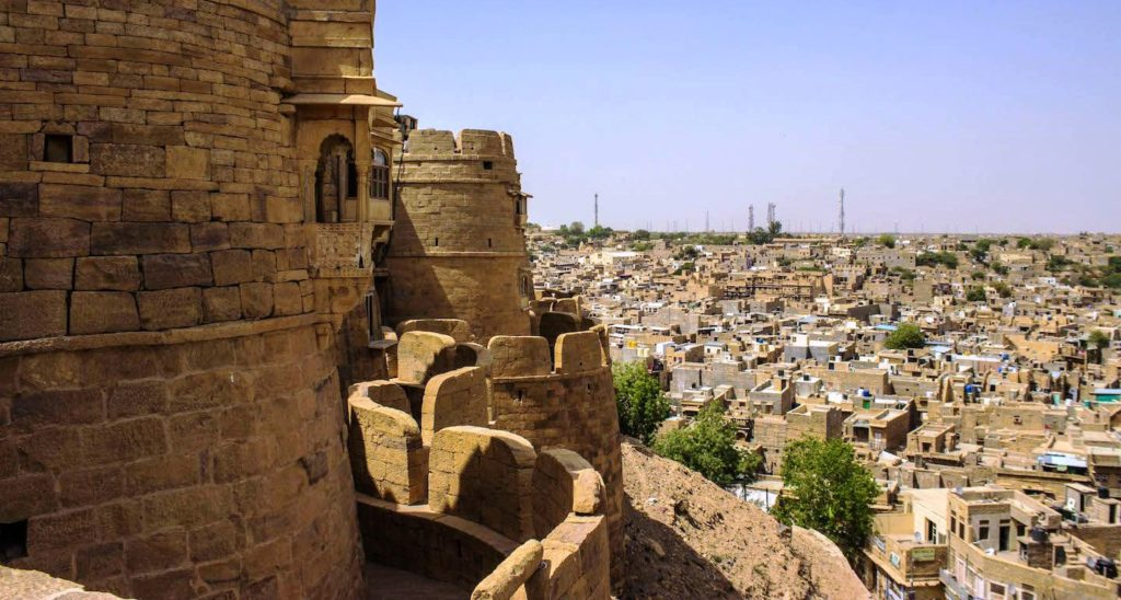 The fort is deteriorating, and dire need of extensive water-management infrastructure could not have been foreseen by the builders of this desert city,