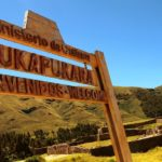 Puka Pukara; The Red Fort of Inca Ruins in Peru