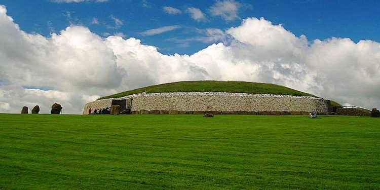 The exact purpose of Newgrange is not confirmed, but speculated that it had been used for religious activities, aligned with rising sun, which lights passes through the chamber on the winter solstice.