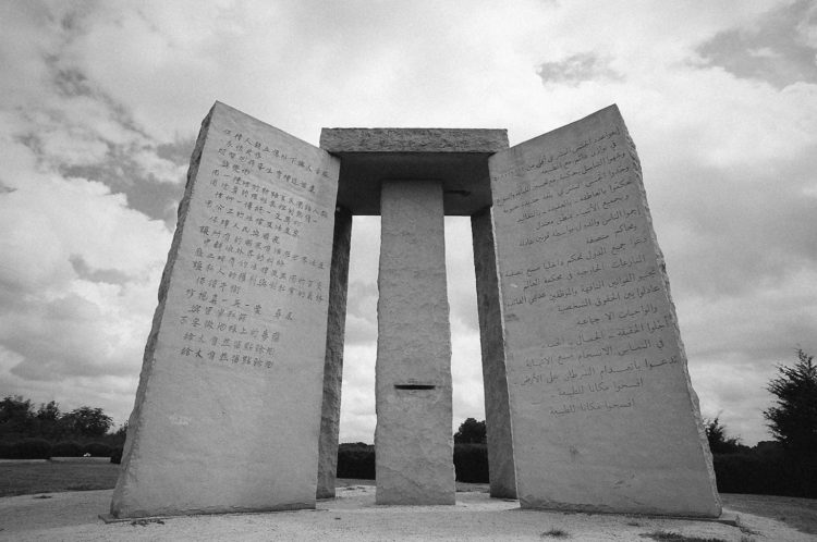 The stones interpretation is describe the basic concepts implemented to rebuild a devastated civilization.