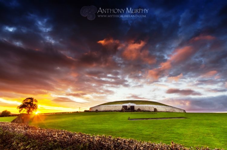 , Newgrange is just a passage tomb and was sealed for many centuries and remained in Irish mythology and folklore.