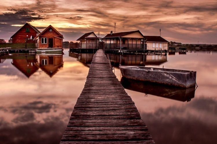 This floating village is so fascinating, enchanting and a completely a fairy tale scene.
