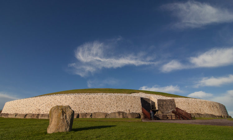 The Newgrange is the most famous monument which is a part of the Brú na Bóinne UNESCO World Heritage Site, having great similarities with other Neolithic constructions in Western Europe,