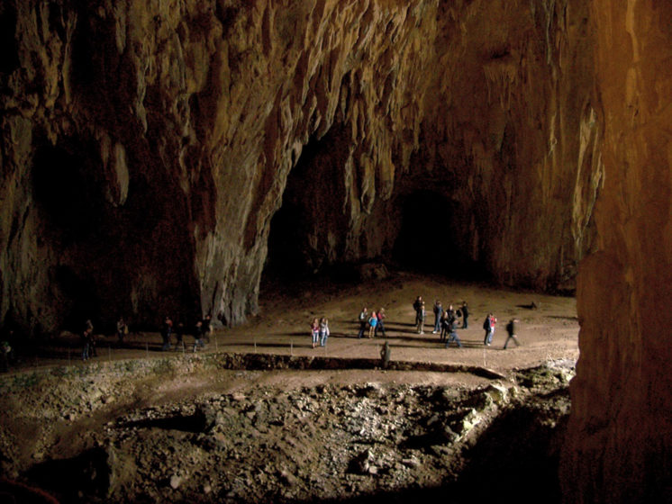 The vastness and immensity of the Skocjan cave is breathtaking