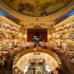 Vintage Theatre Converted into Spectacular Bookstore