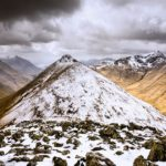 Breathtaking Snow-Capped Mountains and Serene Lochs of the Scottish Highlands