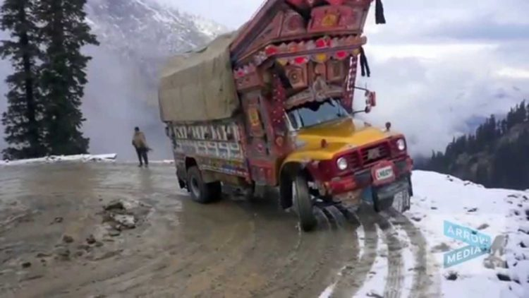 This is extremely treacherous, as there are high mountains on each side of Lowari Top, and a fatal avalanche can come at any moment without warning.