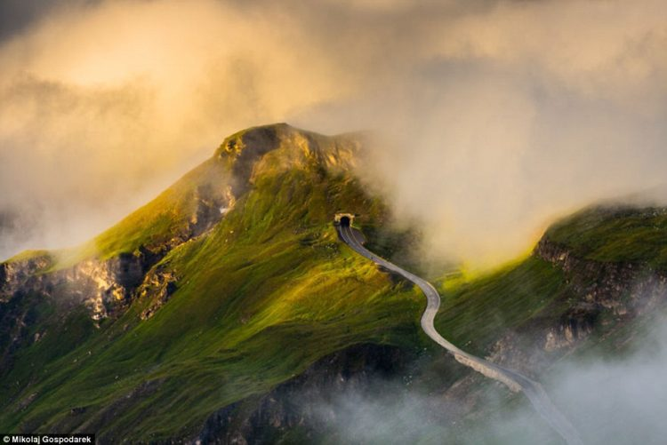 The Grossglockner High Alpine Road in Austria is possibly the most attractive road in Europe