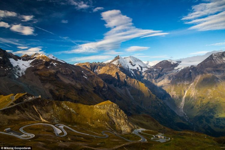 The road, which is named after Austria's highest mountain, was first mooted by a team of Austrian engineers in 1924